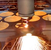 laser cutting stainless